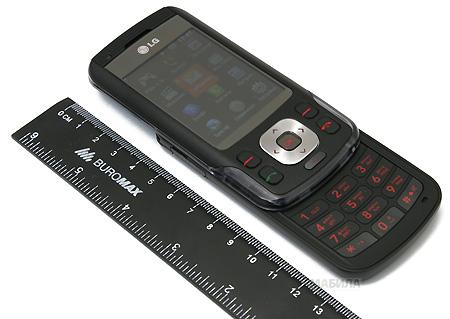 LG KC560 - стильный музыкальный слайдер