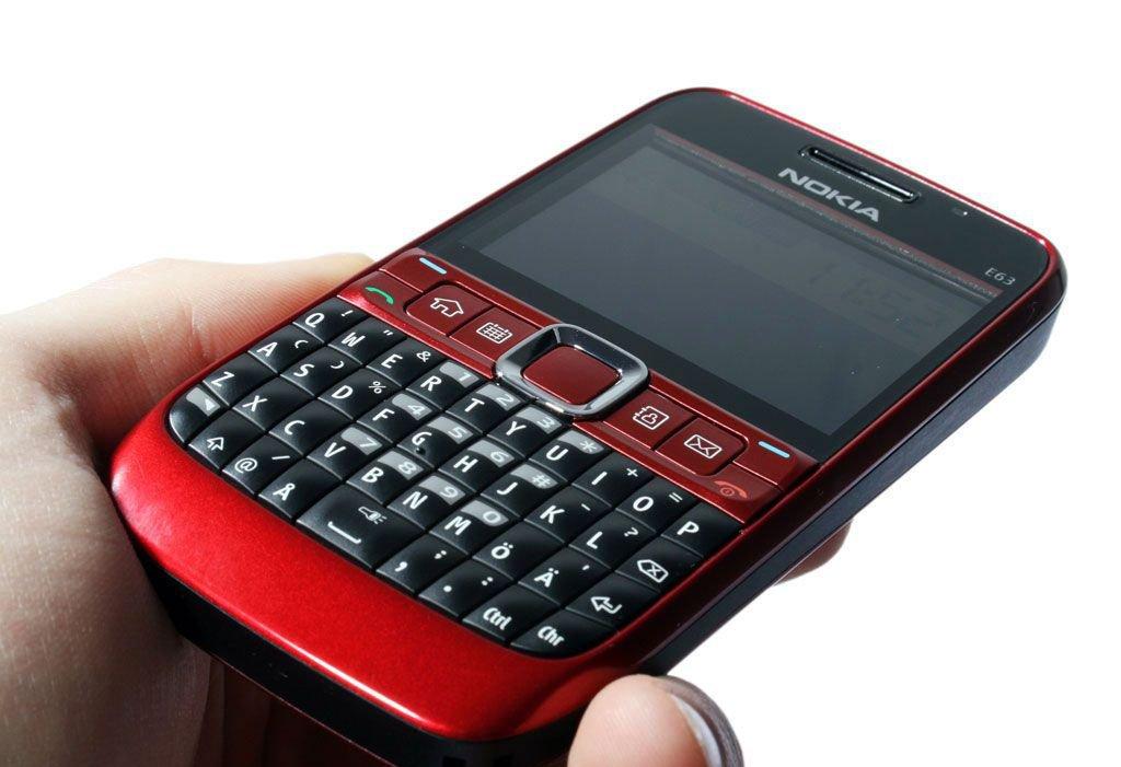 Смартфон Nokia E63 анонсирован официально