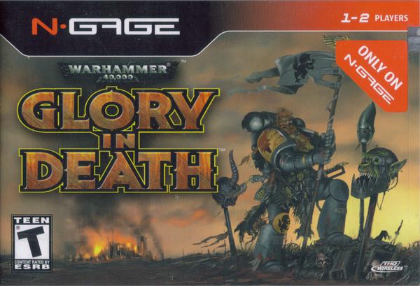 Warhammer 40,000 Glory in Death