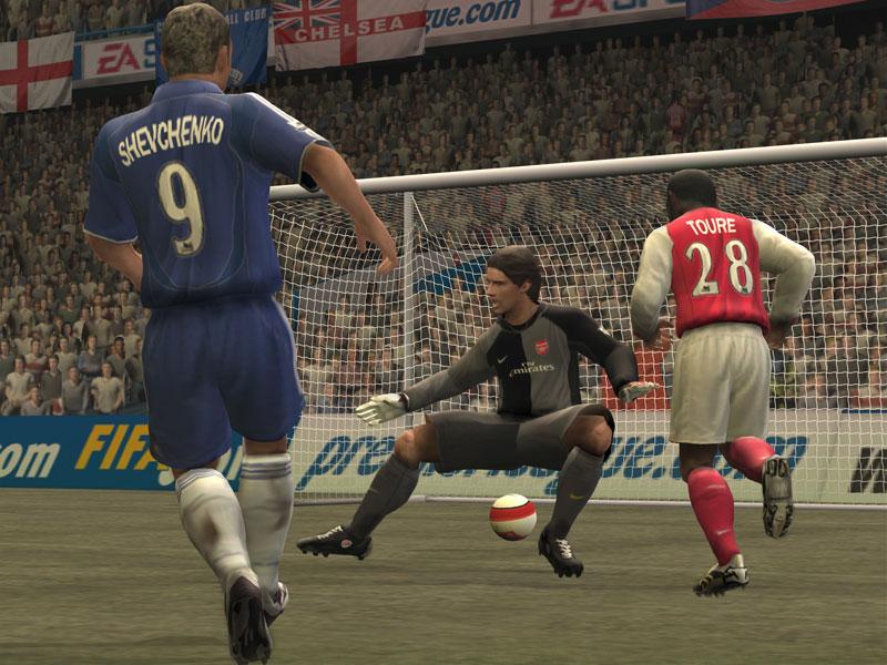 EA FIFA 07 3D - symbian 9.x (в zip архиве)