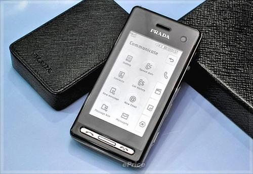 LG анонсировала выпуск телефона PRADA II