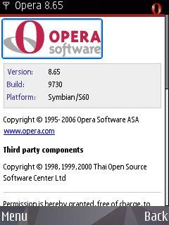 Opera v.8.65 Build 9730